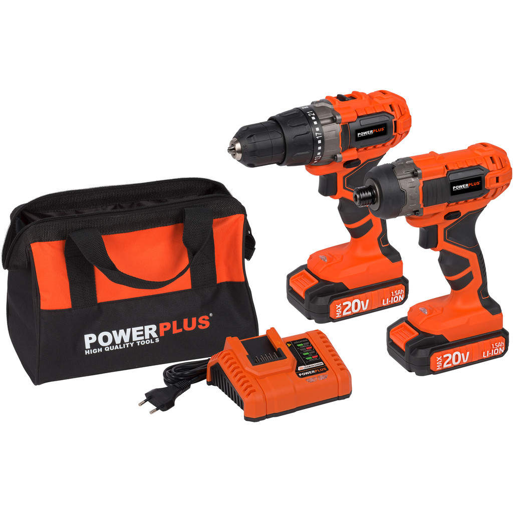 Powerplus Dual Power POWDP1550 Combiset kopen?