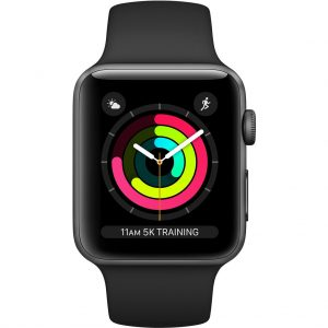 Apple Watch Series 3 42mm Space Gray Aluminium/Zwart kopen?