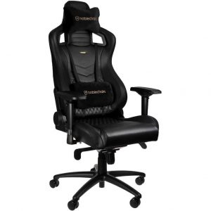Noblechairs EPIC Gaming Stoel Nappa Leather - black kopen?