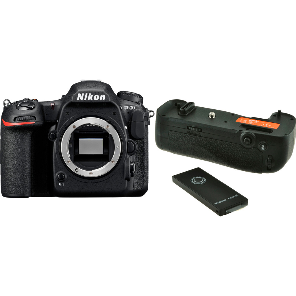 Nikon D500 + Jupio Battery Grip kopen?