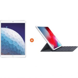 Apple iPad Air (2019) 64 GB Wifi Zilver + Smart Keyboard kopen?