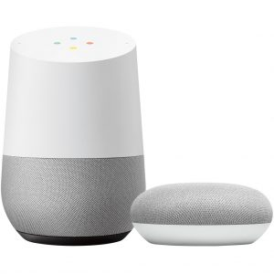 Google Home + Google Nest Mini Wit kopen?