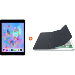 Apple iPad (2018) 128GB Wifi Space Gray + Smart Cover kopen?