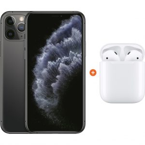 Apple iPhone 11 Pro 64 GB Space Gray + Apple AirPods 2 met oplaadcase kopen?