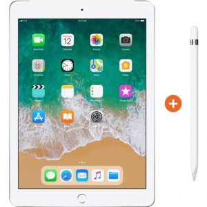 Apple iPad (2018) 128 GB Wifi Zilver + Pencil kopen?