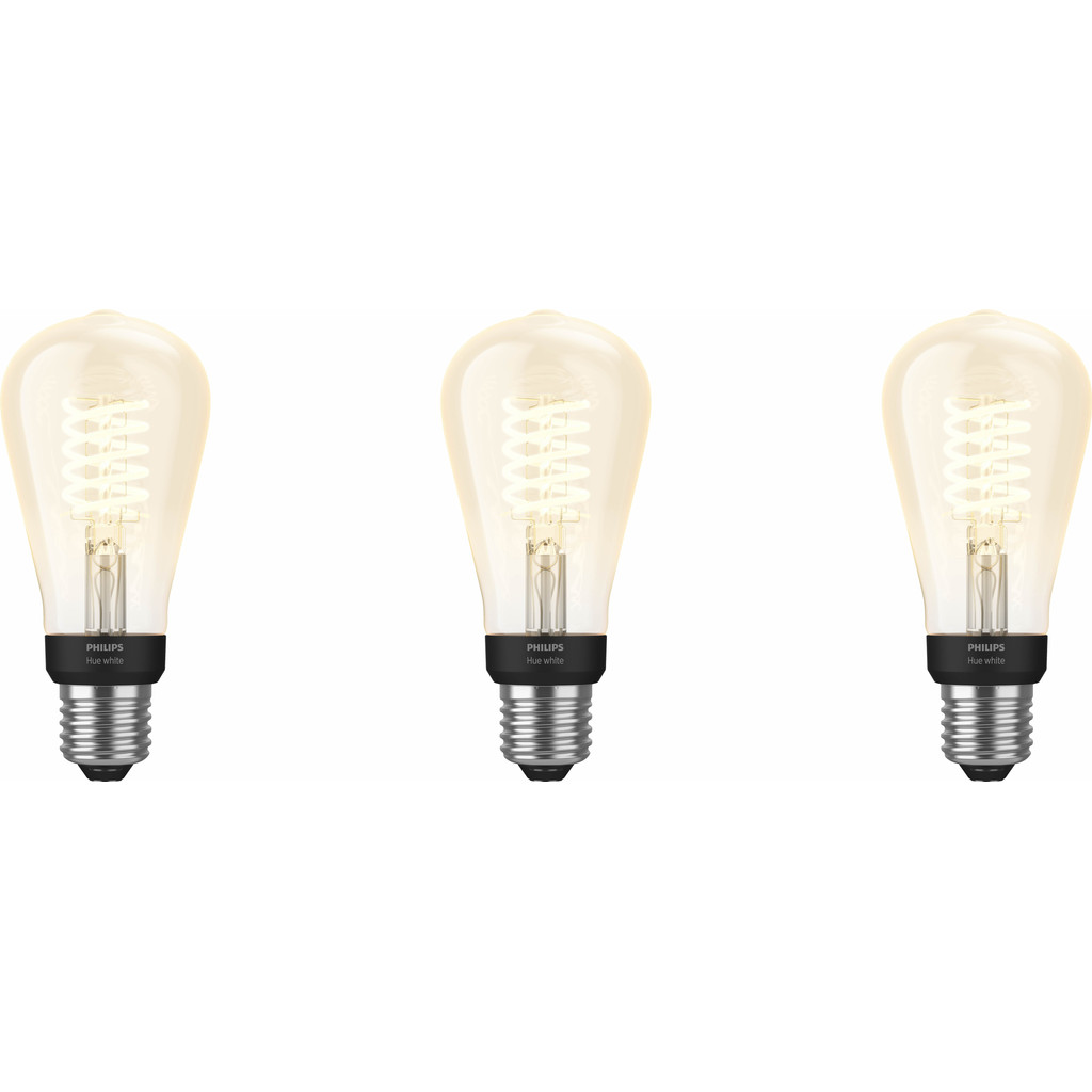Philips Hue Filamentlamp White Edison E27 Bluetooth 3-Pack kopen?